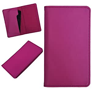 DCR Pu Leather case cover for Sony Xperia SL (pink)