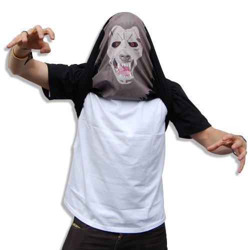 ThumbsUp. Flippin Miniatur-'Erschreckend Werwolf Tee (groß)