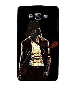 For Samsung Galaxy J7 (2015) dangerous animal ( dangerous man, dangerous animal, animal, man ) Printed Designer Back Case Cover By TAKKLOO