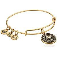 Alex and Ani True Direction Rafaelian Gold Bangle Bracelet