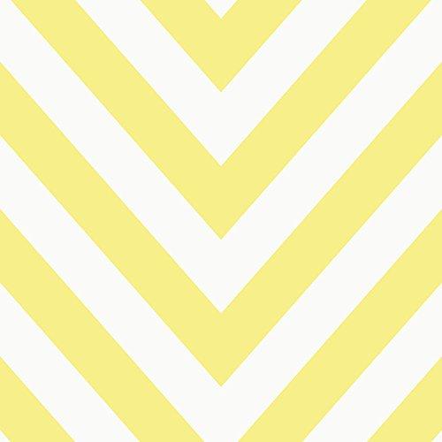 te geometrische Modern Gestreift Bold 5Farben erhältlich Gelb/Weiß (Gelb Chevron)