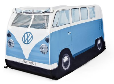 AG - VW Bus Kinder Spielzelt blau, T1 Bulli Van Volkswagen, Wurfzelt