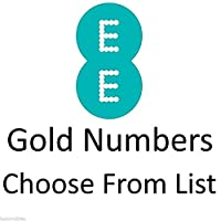 GOLD VIP BUSINESS EASY MOBILE PHONE NUMBER DIAMOND PLATINUM SIM CARD EE