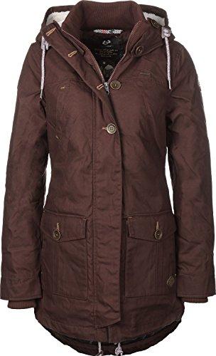 Damen Mantel ragwear Jane Coat  Größe S Braun - 4