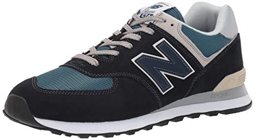 New Balance 574, Zapatillas para Hombre, Azul (Dark Navy/Marred Blue ESS), 43 EU (Talla Fabricante:...