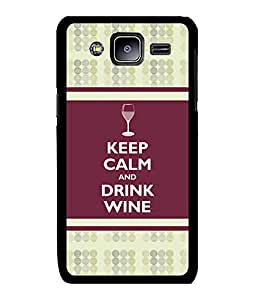 Fuson 2D Printed Quotes Designer back case cover for Samsung Galaxy J2 - D4388