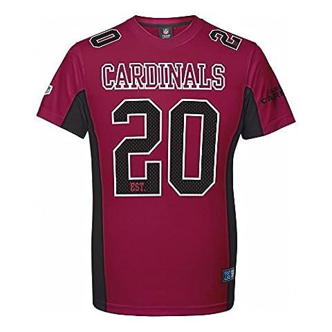 Majestic NFL Mesh Polyester Jersey Shirt - Arizona
