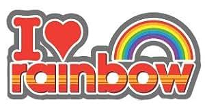 Rainbow Keyring. I love Rainbow Metal Enamel Keyring