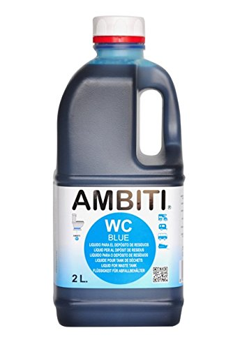 Ambiti Blue 2 L. aditivo para el depósito de residuos, aguas negras 2 litros.