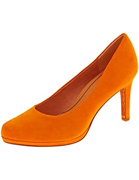Donna Marco Tozzi scarpe tacchi alti corte finta pelle scamosciata