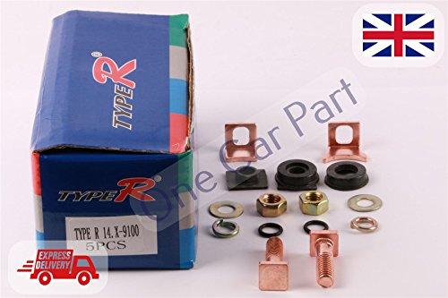 Starter solénoïde Contact kit de réparation pour ensemble de Nippon Denso 135385