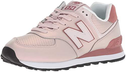 New balance 574v2, scarpa da tennis donna, rosa (conch shell/dark oxide kse), 36 eu