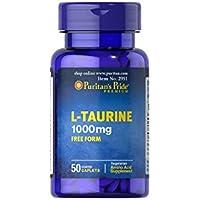 Puritan's Pride L-Taurine 1000 mg (50 Tabletten) preisvergleich bei billige-tabletten.eu
