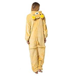 Katara-(10+ Modelos Disfraz Animal Pijama Una Pieza Adulto Oso Rilakkuma Talla 165-175cm(L) (1744), color