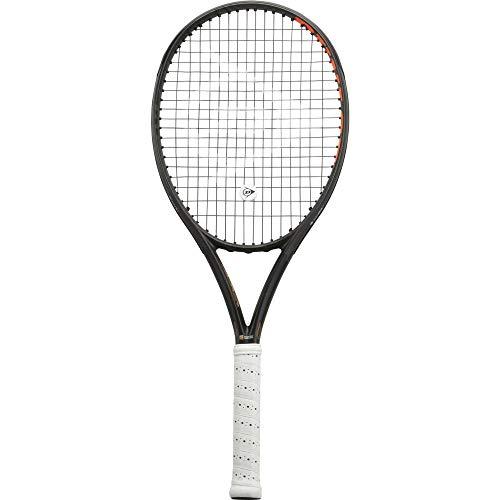 Dunlop D TR NT R5.0 Lite - Racchetta da Tennis da Uomo, Uomo, 677368MOD, Nero/Arancione, Set da 3