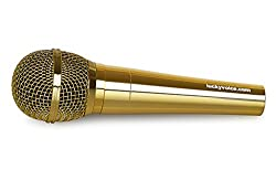 Lucky Voice Spare Microphone - Gold