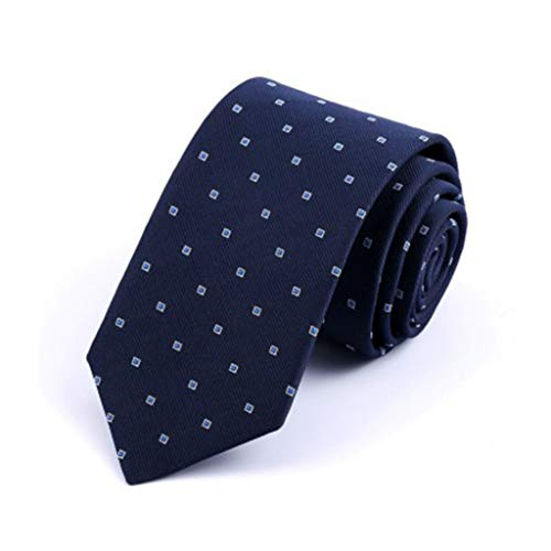 XJLXX Pfeilart Plaid Stoff Mikrofaser Herren Krawatte Business Kleid Krawatte Größe 148cm × 8.5cm Krawatte (Color : B) -