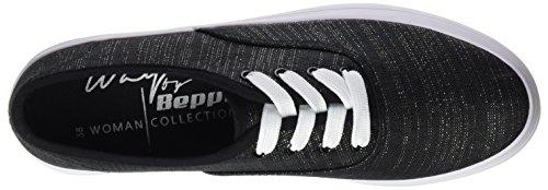Beppi - Canvas 2148700, Scarpe sportive Donna Nero