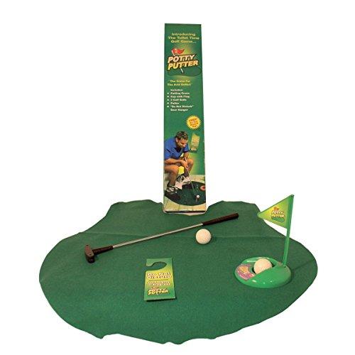 Toiletten Golf Set Golfset für das Badezimmer - Golfsport auf dem WC und Klo - 2