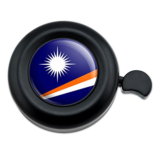 Land Marshall-inseln (Die Marshall Inseln National Land Flagge Fahrrad Lenker Bike Bell)