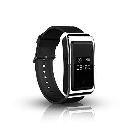 8 Gb Spy Watch (HD Mini Spy Camera Watch 1080p Verstecktes Diktiergerät-Armband,8GB)