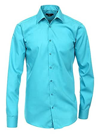 Venti Herren Businesshemd hellblau 43/XL