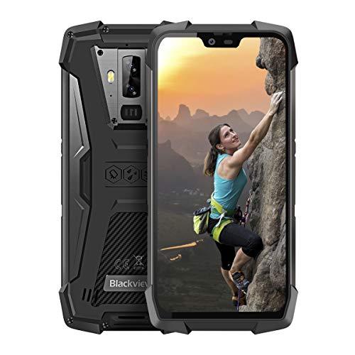 Blackview BV9700 Pro Robust Handy, Android 9.0 Pie Helio P70 6GB RAM+128GB IP69K Outdoor Smartphone,19:9 Amoled 5.8 FHD+ IPS 4380mAh 16MP+16MP+8MP Globales 4G-Netzwerk