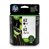 HP - N9H64FN - 62 Cartouches d'encre d'origine, 2 cartouches (Noir et tricolore)