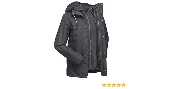 cb6576957 Forclaz Travel 100 3-in-1 Men's Waterproof Jacket - Grey