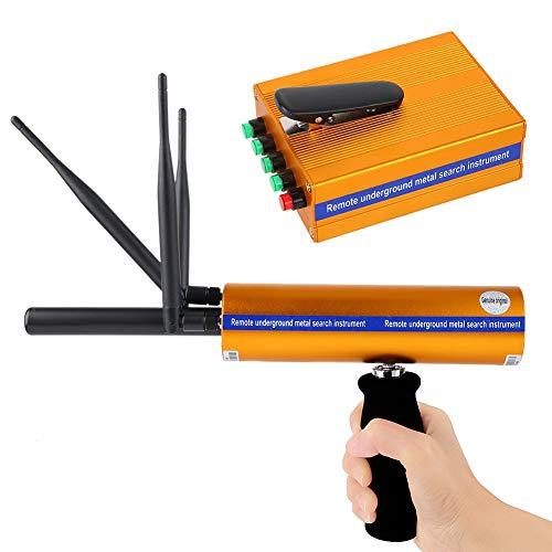 Pbzydu Detector de Metales, portátil de Alta sensibilidad Recargable 1400 Metros Buscador escáner...