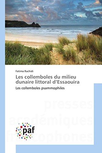 Les collemboles du milieu dunaire littoral d essaouira par Rachidi-F