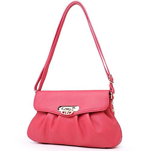 Chlln Neue Handtasche Sommer Neue Handtasche Umhängetasche Lady Mode Frauen - Einzel Rose red