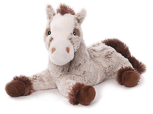 Inware 6373 - Kuscheltier Pferd Harry, liegend, 30 cm, beige/braun (Beige Tröster)