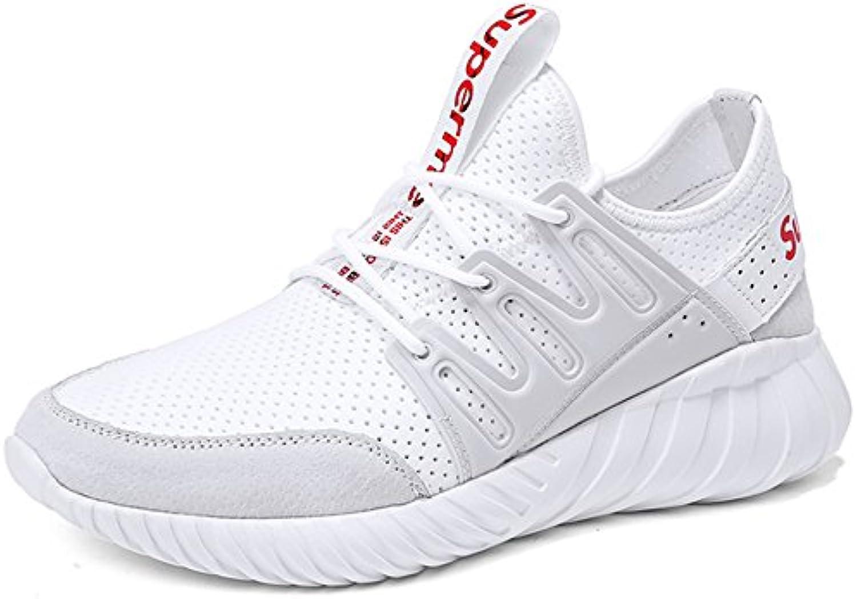 GNEDIAE Hombre Zapatos Deportivos Casuales Zapatillas de Deporte al Aire Libre