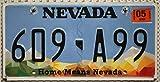 USA Nummernschild NEVADA Kennzeichen # US License Plate # KFZ Metallschild