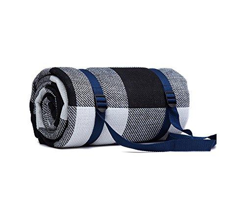 LaCyan 6 mm di spessore Coperta da picnic Impermeabile Outdoor Camping Beach Tappeto Tappetino da viaggio 200 x 200 cm