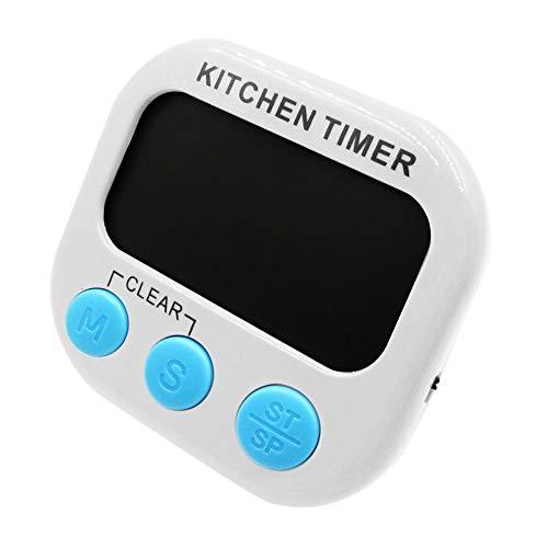 Gaddrt Küchenuhr Große LCD-Digital-Küche Kochen Timer Count Down Clock lauter Alarm magnetisch...