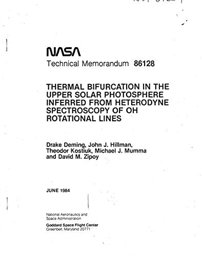 Thermal bifurcation in the upper solar photosphere inferred from heterodyne spectroscopy of OH rotational lines (English Edition) Thermal Line
