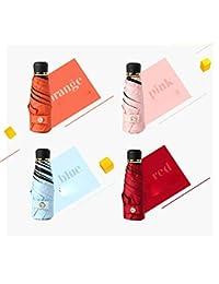 Paraguas Platino Diamante Diamante Mini Paraguas plegable Sun Portátil Anti-UV Bolsillo para mujeres