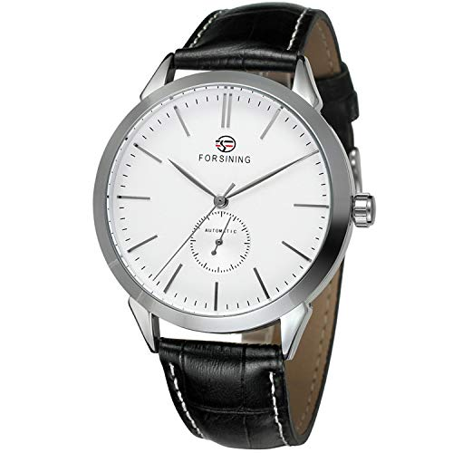 Forsining Men\'s Casual Automatic Analogue Dial Fashion Wrist Watch FSG8083M3S3
