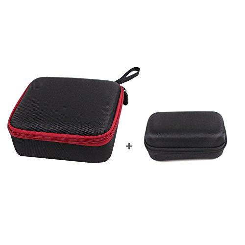 Hensych® Mini Portable Tragetasche Handtasche Box Tasche für DJI Spark Drone (Red Bag + Remote control Bag)