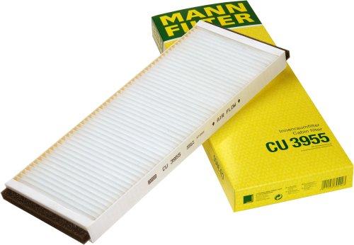 Mann Filter CU 3955 Innenraumfilter (V Filter Air 8)