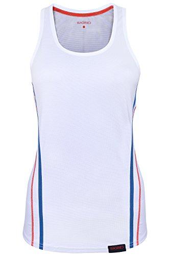 Formación para mujer Top por Sundried® - señoras sin mangas del chaleco Top Activewear para el tenis y el gimnasio (Medium)