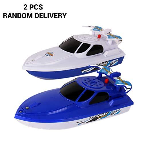 Ysoom Wasserspaß Boote, Badeboote aus Kunststoff, Wasserspielzeugset für Kleinkinder, für Badewanne, Pool für Mädchen und Jungen 1PCS (1, 2pcs)