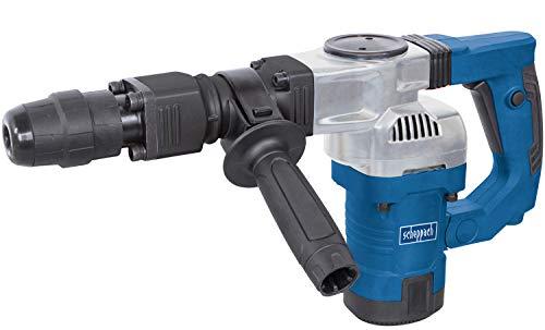 Scheppach Abbruchhammer AB1500MAX (1300 Watt, 27 Joule, inkl. SDS-Max Spitz- und Flachmeißel, Kunststoffkoffer) Stemmhammer