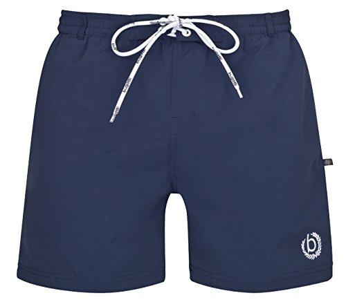 bugatti® - moderne Herren Badeshorts in mintgrün, marineblau, orange, rot, türkis oder schwarz Marine