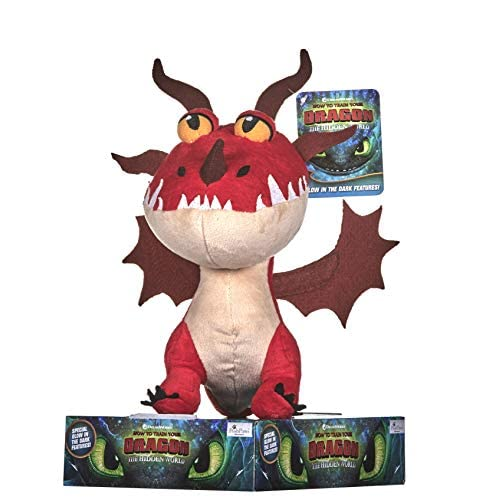 Dreamworks 12435 How to Train Your Dragon - Gancho de peluche (27 cm), multicolor 6
