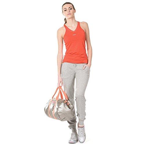 Jersey di pantaloni con stampa in contrasto di colore sulla gamba mod. s5wacp27 nero
