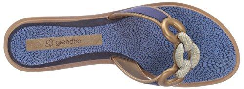 Grendha - Exotic Thong, - Donna Blu (Blau (Blue 90061))