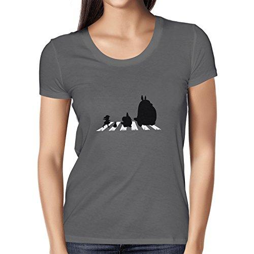 Studio Kostüm Ghibli - Texlab Neighbour Road - Damen T-Shirt, Größe L, Asphalt